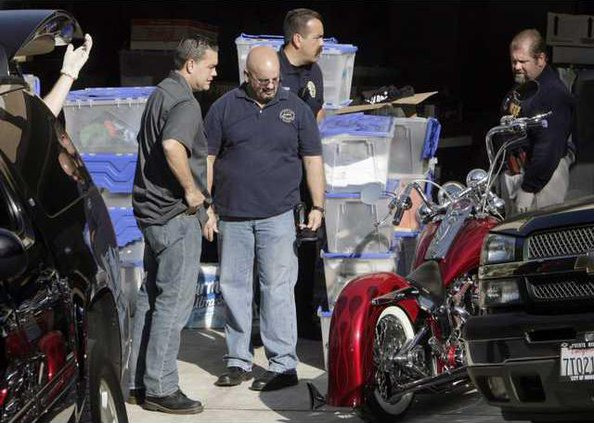 Biker Gang Busts CA 5047691