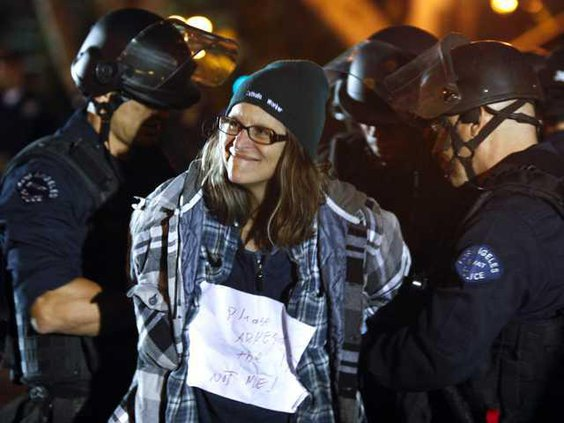 Occupy Protest W