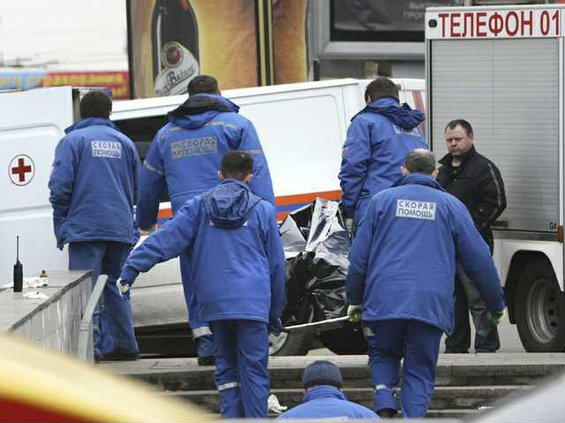 WRussia Subway Blast Heal