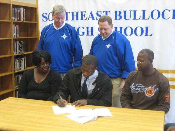 Johnson signing