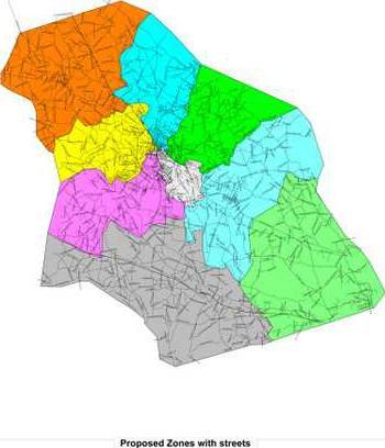 Proposed zones