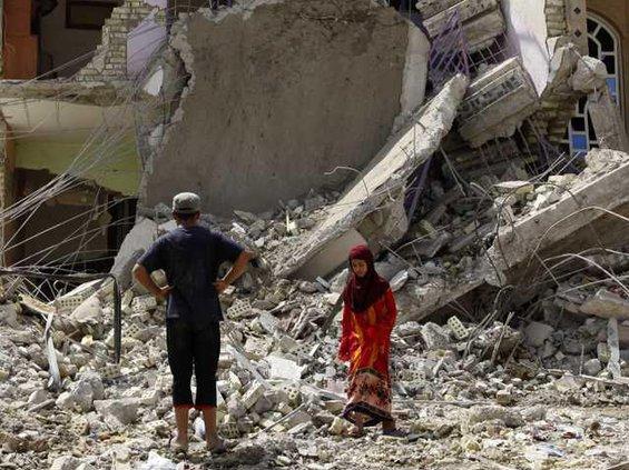 Iraq Blast Heal