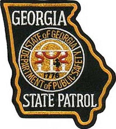 Georgia State Patrol patch web