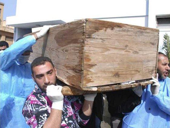 APTOPIX Libya Protest Heal