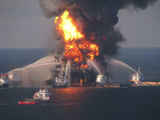 Oil Rig Explosion Heal