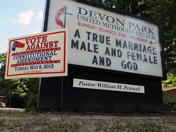 Gay Marriage AmendmentW