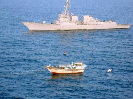 Mideast US Navy Iran W