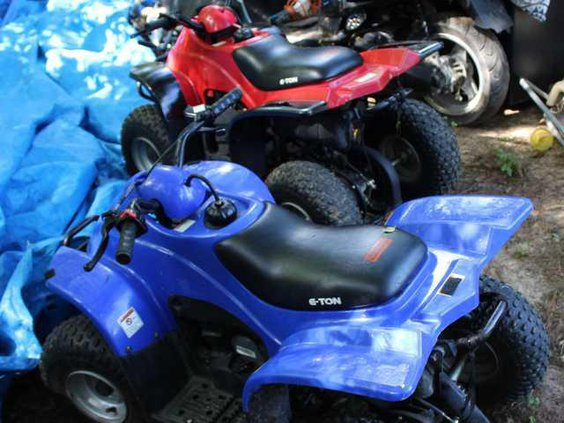 W Recovered 4 Wheelers