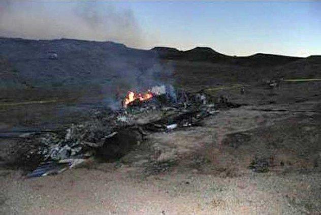 Small Plane Crash N 7104628