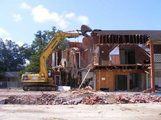 Trellis Demolition 3