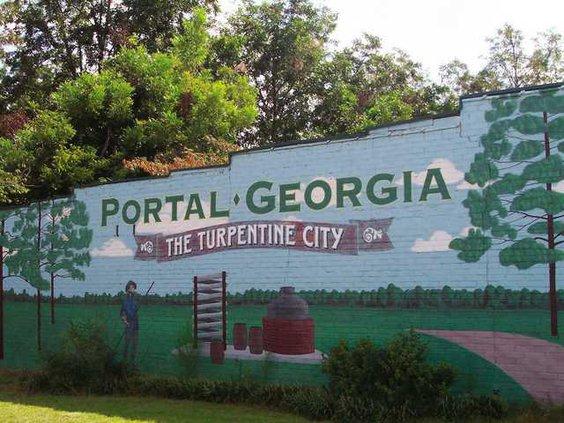 Portal sign