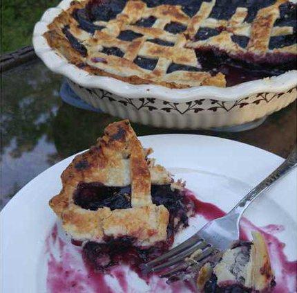 W Blueberry Pie
