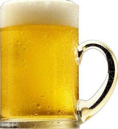 Beer mug transparent