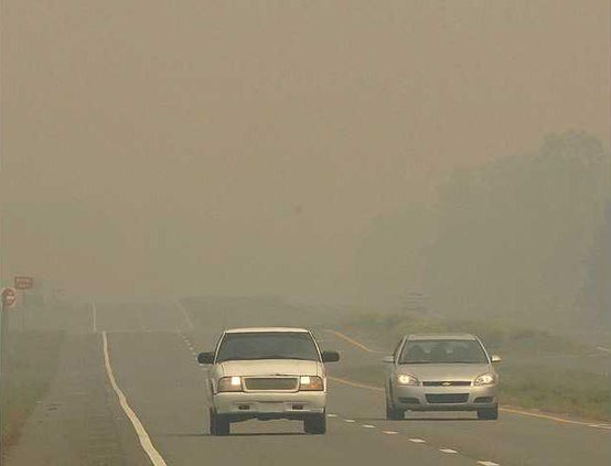 W Georgia Wildfires Heal