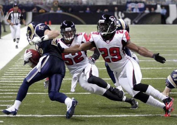 Falcons Rams Football Heal