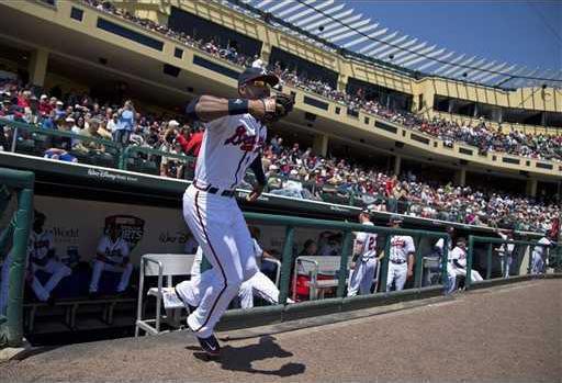 Astros Braves Spring  Heal