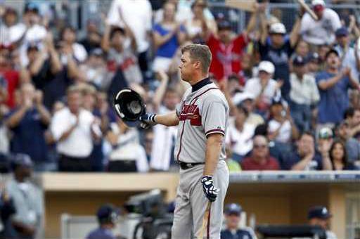Braves Padres Basebal Heal