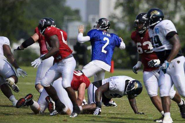 Jaguars Falcons Camp  Heal