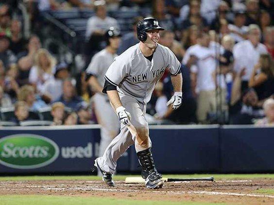 W Yankees Braves Baseba Heal