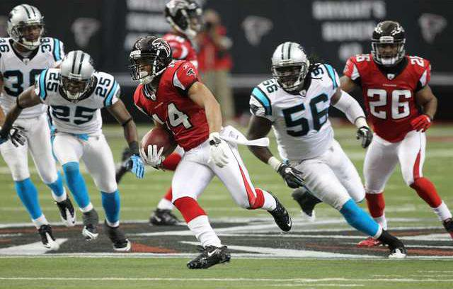 Panthers Falcons Foot Heal