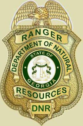 W DNR Ranger Badge