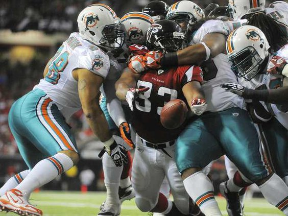 W Dolphins Falcons Foot Heal