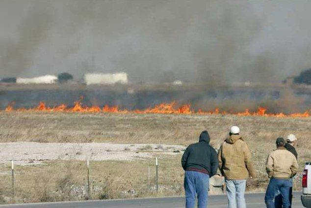 Texas Wildfires TXD 5744519