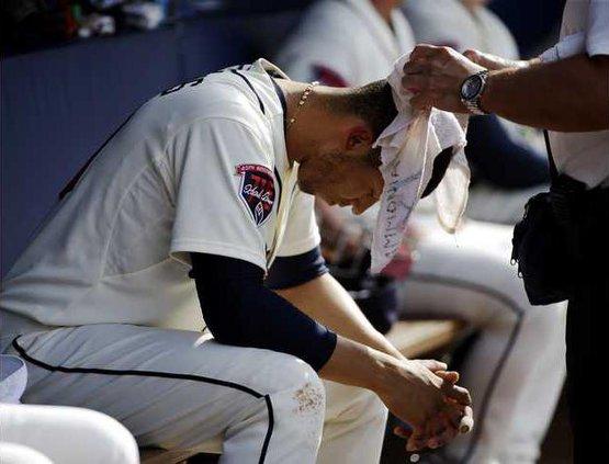 Rockies Braves Baseba Heal