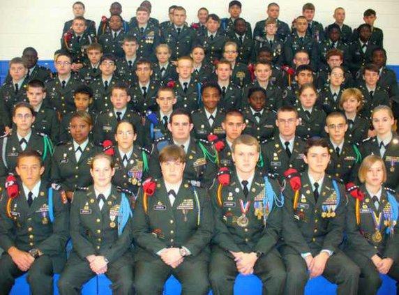 W SEB JROTC Cadets
