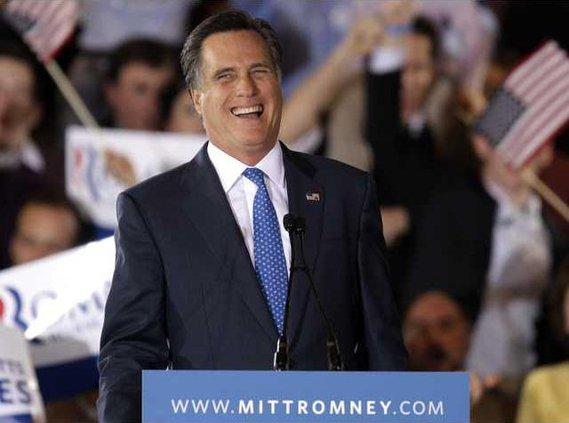 APTOPIX Romney 2012 Heal
