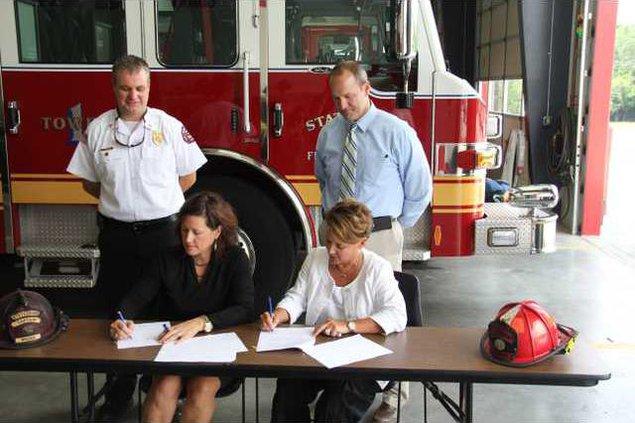 OTC city fire agreement