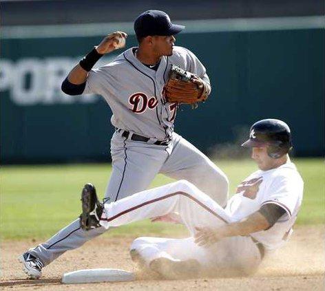 Tigers Braves Basebal Heal