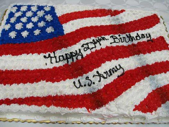 Army Birthday cake for web