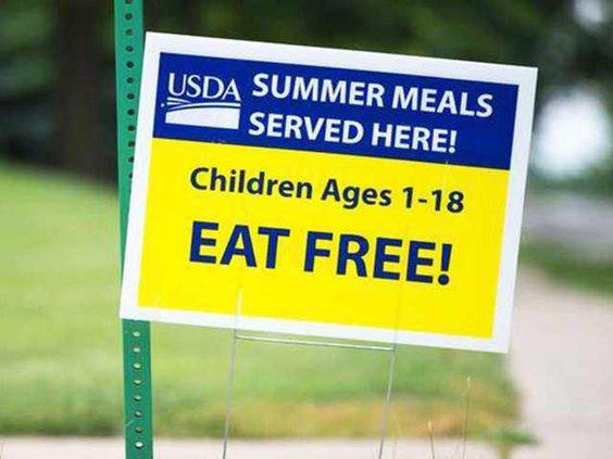 W USDA Sign