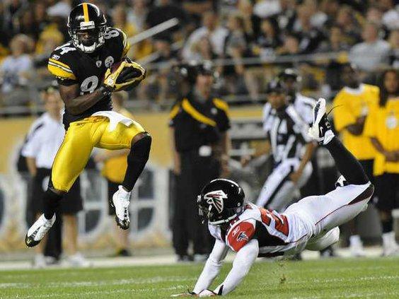 W Falcons Steelers Foot Heal