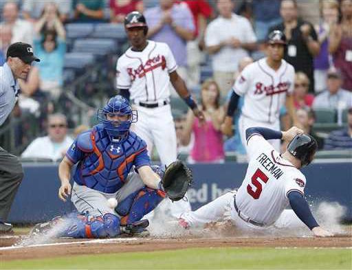 Mets Braves Baseball  Heal WEB