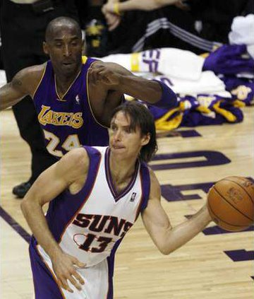 Lakers Nash Basketbal Heal