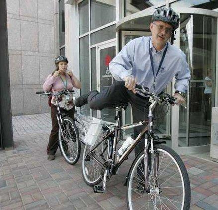 College Bikes Heal