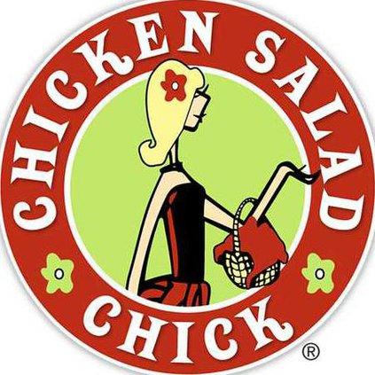 Chick Salad chick logo Web
