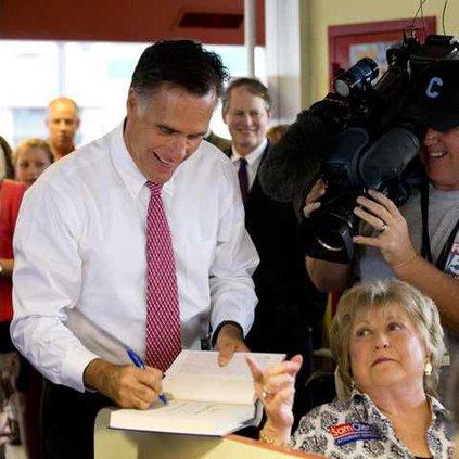Georgia Senate-Romney Werm