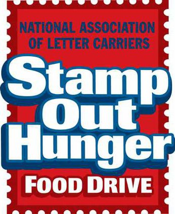 Postal Food drive logo