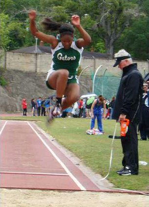 chelsea oglesby in long jump