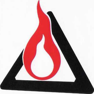 Crime arson logo