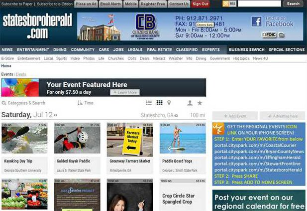 Events Web