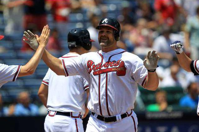 Giants Braves Basebal Heal