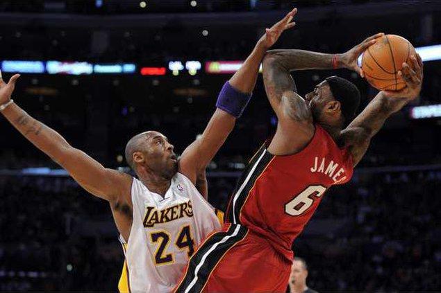 Heat Lakers Basketbal Heal