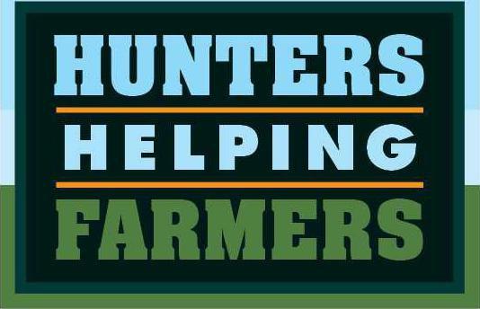 Hunters Helping Farmers Logo