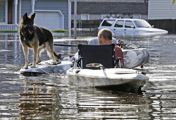 Hurricane Florence flooding
