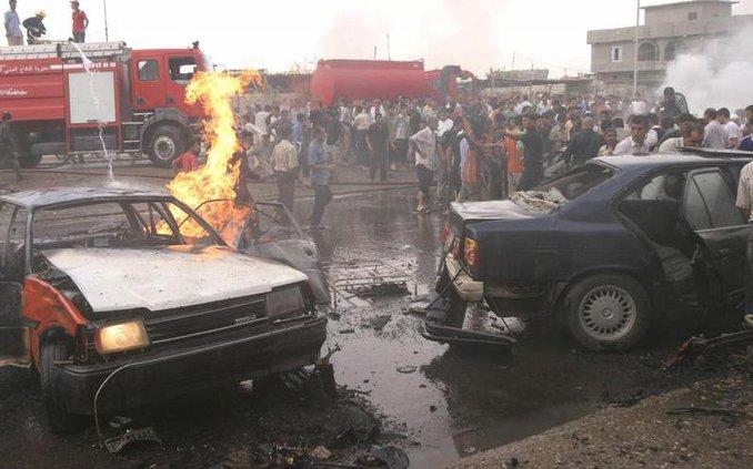 IRAQ CAR BOMB BAG11 6305402
