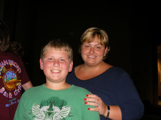 Potter Mom and son